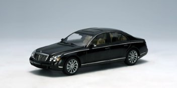 MAYBACH 57 S 2005 BLACK 1/43