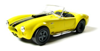 SHELBY COBRA 427 S/C, YELL/BLACK, '65, 1/43