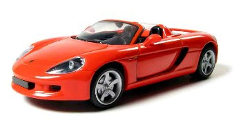 PORSCHE CARRERA GT, RED, 1/43