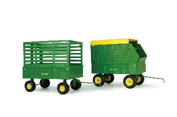 JOHN DEERE WAGON ASSORTMENT 1:16