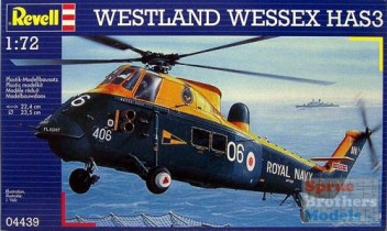 Westland Wessex HAS 3 Royal Navy, 1/72